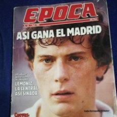 Coleccionismo de Revista Época: REVISTA EPOCA. NUMERO 56. DE 1986.. Lote 257575015