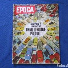 Coleccionismo de Revista Época: EPOCA N.º 631 / EN ITALIANO / OTTOBRE 1962 SPECIALE. Lote 264143184