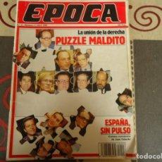 Coleccionismo de Revista Época: EPOCA Nº 3 , LA UNION DE LA DERECHA. Lote 264489479