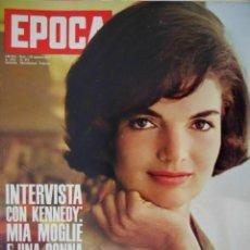 Coleccionismo de Revista Época: EPOCA RIVISTA VINTAGE 1963 ANNO XIV N.673 - MONDADORI ED - ED. MONDADORI. Lote 266743383