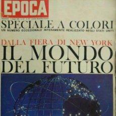 Coleccionismo de Revista Época: EPOCA RIVISTA VINTAGE 1964 ANNO XV N.710 - MONDADORI ED - ED. MONDADORI. Lote 266743388