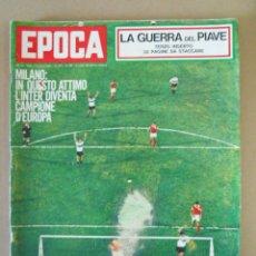 Coleccionismo de Revista Época: EPOCA RIVISTA VINTAGE 1965 ANNO XVI N.767 - MONDADORI ED - ED. MONDADORI. Lote 266743433