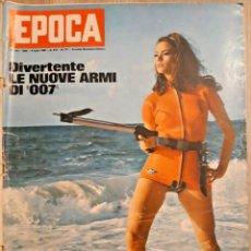 Coleccionismo de Revista Época: EPOCA RIVISTA VINTAGE 1965 ANNO XVI N.771 - MONDADORI ED - ED. MONDADORI. Lote 266743448