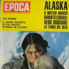 Coleccionismo de Revista Época: EPOCA RIVISTA VINTAGE 1964 ANNO XV N.706 - MONDADORI ED - ED. MONDADORI. Lote 266743453