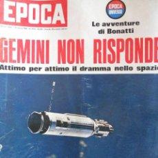 Coleccionismo de Revista Época: EPOCA RIVISTA VINTAGE 1966 - ANNO XVII N.809 - MONDADORI ED - ED. MONDADORI. Lote 266743463