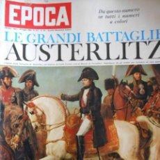 Coleccionismo de Revista Época: EPOCA RIVISTA VINTAGE 1964 ANNO XV N.721 - MONDADORI ED - ED. MONDADORI. Lote 266743468