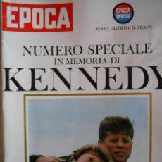 Coleccionismo de Revista Época: EPOCA RIVISTA VINTAGE 1964 ANNO XV N.739 - MONDADORI ED - ED. MONDADORI. Lote 266743488