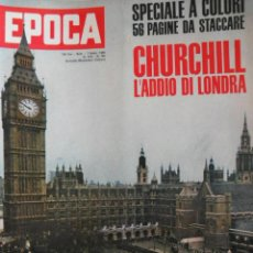 Coleccionismo de Revista Época: EPOCA RIVISTA VINTAGE 1965 ANNO XVI N.750 - MONDADORI ED - ED. MONDADORI. Lote 266743493