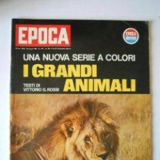 Coleccionismo de Revista Época: EPOCA RIVISTA VINTAGE 1965 ANNO XVI N.769 - MONDADORI ED - ED. MONDADORI. Lote 266743498