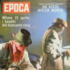 Coleccionismo de Revista Época: EPOCA RIVISTA VINTAGE 1964 ANNO XV N.709 - MONDADORI ED - ED. MONDADORI. Lote 266743543