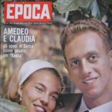 Coleccionismo de Revista Época: EPOCA RIVISTA VINTAGE 1964 ANNO XV N.722 - MONDADORI ED - ED. MONDADORI. Lote 266743553