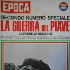 Coleccionismo de Revista Época: EPOCA RIVISTA VINTAGE 1965 ANNO XVI N.766 - MONDADORI ED - ED. MONDADORI. Lote 266743563