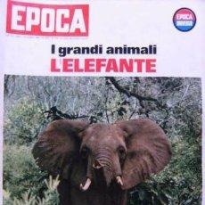 Coleccionismo de Revista Época: EPOCA RIVISTA VINTAGE 1965 ANNO XVI N.770 - MONDADORI ED - ED. MONDADORI. Lote 266743598
