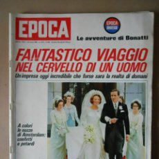 Coleccionismo de Revista Época: EPOCA RIVISTA VINTAGE 1966 - ANNO XVII N.808 - MONDADORI ED - ED. MONDADORI. Lote 266743608