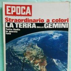 Coleccionismo de Revista Época: EPOCA RIVISTA VINTAGE 1966 - ANNO XVII N.835 - MONDADORI ED - ED. MONDADORI. Lote 266743613