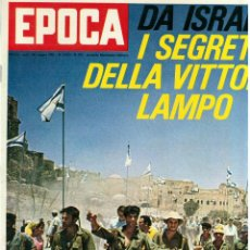 Coleccionismo de Revista Época: EPOCA RIVISTA VINTAGE 1967 ANNO XVIII N.874 - MONDADORI ED - MONDADORI ED.. Lote 267803649