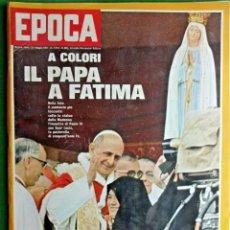 Coleccionismo de Revista Época: EPOCA RIVISTA VINTAGE 1967 ANNO XVIII N.869 - MONDADORI ED - MONDADORI ED.. Lote 267803719