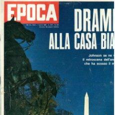 Coleccionismo de Revista Época: EPOCA RIVISTA VINTAGE 1968 ANNO XIX N.915 - MONDADORI ED - MONDADORI ED.. Lote 267803749