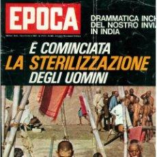 Coleccionismo de Revista Época: EPOCA RIVISTA VINTAGE 1967 ANNO XVIII N.885 - MONDADORI ED - MONDADORI ED.. Lote 267803769