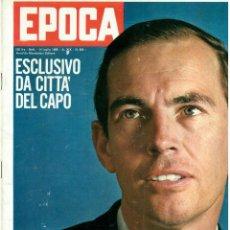 Coleccionismo de Revista Época: EPOCA RIVISTA VINTAGE 1968 ANNO XIX N.929 - MONDADORI ED - MONDADORI ED.. Lote 267803779