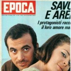 Coleccionismo de Revista Época: EPOCA RIVISTA VINTAGE 1967 ANNO XVIII N.892 - MONDADORI ED - MONDADORI ED.. Lote 267803789