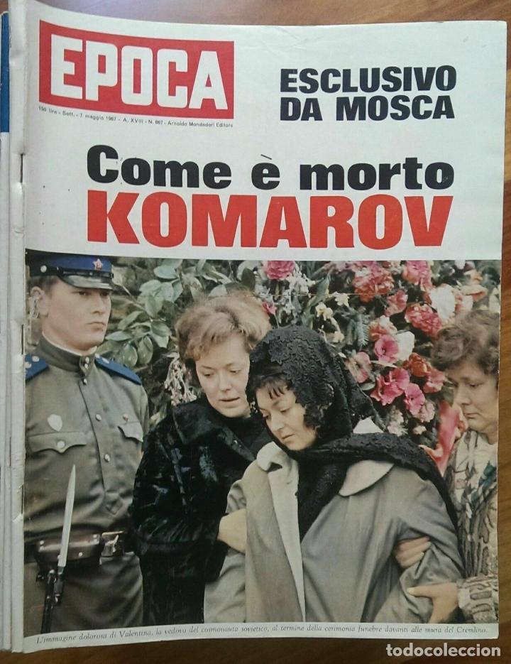 EPOCA RIVISTA VINTAGE 1967 ANNO XVIII N.867 - MONDADORI ED - MONDADORI ED. (Coleccionismo - Revistas y Periódicos Modernos (a partir de 1.940) - Revista Época)