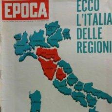 Coleccionismo de Revista Época: EPOCA RIVISTA VINTAGE 1970 ANNO XXI N.1029 - MONDADORI ED - MONDADORI ED.. Lote 267803804