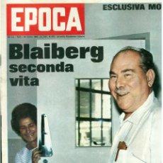 Coleccionismo de Revista Época: EPOCA RIVISTA VINTAGE 1968 ANNO XIX N.913 - MONDADORI ED - MONDADORI ED.. Lote 267803819