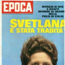 Coleccionismo de Revista Época: EPOCA RIVISTA VINTAGE 1967 ANNO XVIII N.882 - MONDADORI ED - MONDADORI ED.. Lote 267803839
