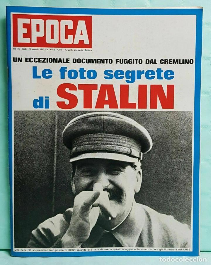 EPOCA RIVISTA VINTAGE 1967 ANNO XVIII N.881 - MONDADORI ED - MONDADORI ED. (Coleccionismo - Revistas y Periódicos Modernos (a partir de 1.940) - Revista Época)