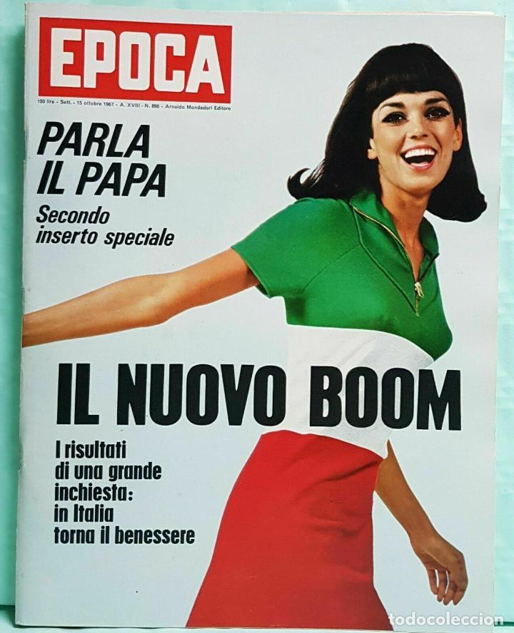 EPOCA RIVISTA VINTAGE 1967 ANNO XVIII N.890 - MONDADORI ED - MONDADORI ED. (Coleccionismo - Revistas y Periódicos Modernos (a partir de 1.940) - Revista Época)