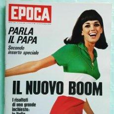 Coleccionismo de Revista Época: EPOCA RIVISTA VINTAGE 1967 ANNO XVIII N.890 - MONDADORI ED - MONDADORI ED.. Lote 267803859