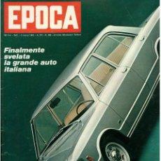 Coleccionismo de Revista Época: EPOCA RIVISTA VINTAGE 1969 ANNO XX N.962 - MONDADORI ED - MONDADORI ED.. Lote 267803864