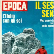 Coleccionismo de Revista Época: EPOCA RIVISTA VINTAGE 1967 ANNO XVIII N.898 - MONDADORI ED - MONDADORI ED.. Lote 267803884