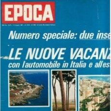 Coleccionismo de Revista Época: EPOCA RIVISTA VINTAGE 1967 ANNO XVIII N.868 - MONDADORI ED - MONDADORI ED.. Lote 267803889