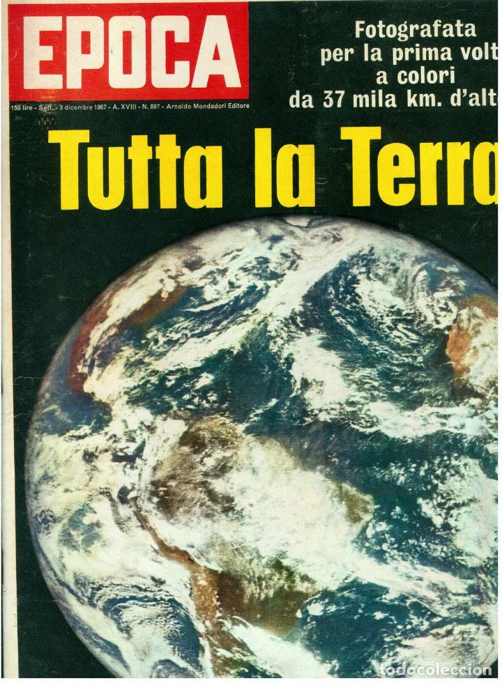 EPOCA RIVISTA VINTAGE 1967 ANNO XVIII N.897 - MONDADORI ED - MONDADORI ED. (Coleccionismo - Revistas y Periódicos Modernos (a partir de 1.940) - Revista Época)