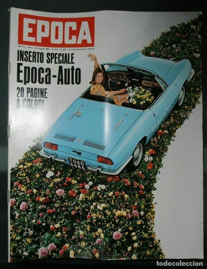 EPOCA RIVISTA VINTAGE 1968 ANNO XIX N.920 - MONDADORI ED - MONDADORI ED. (Coleccionismo - Revistas y Periódicos Modernos (a partir de 1.940) - Revista Época)