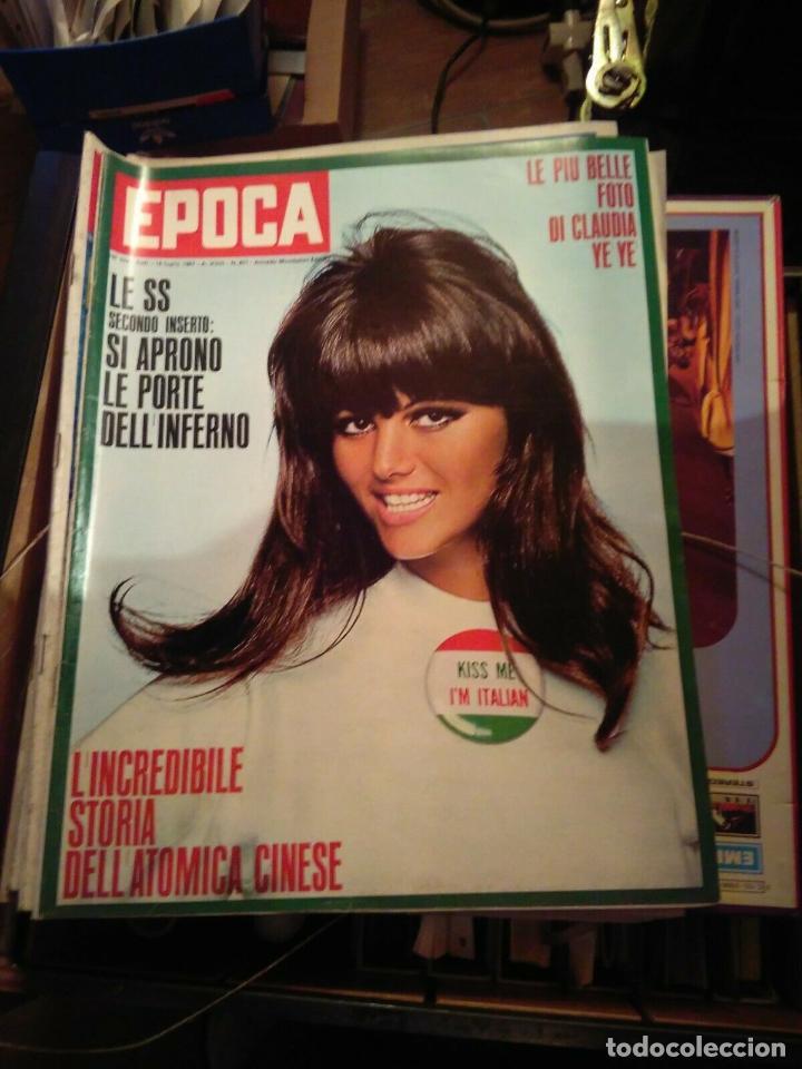 EPOCA RIVISTA VINTAGE 1967 ANNO XVIII N.877 - MONDADORI ED - MONDADORI ED. (Coleccionismo - Revistas y Periódicos Modernos (a partir de 1.940) - Revista Época)