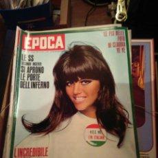 Coleccionismo de Revista Época: EPOCA RIVISTA VINTAGE 1967 ANNO XVIII N.877 - MONDADORI ED - MONDADORI ED.. Lote 267803904