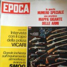 Coleccionismo de Revista Época: EPOCA RIVISTA VINTAGE 1970 ANNO XXI N.1050 - MONDADORI ED - MONDADORI ED.. Lote 267803924