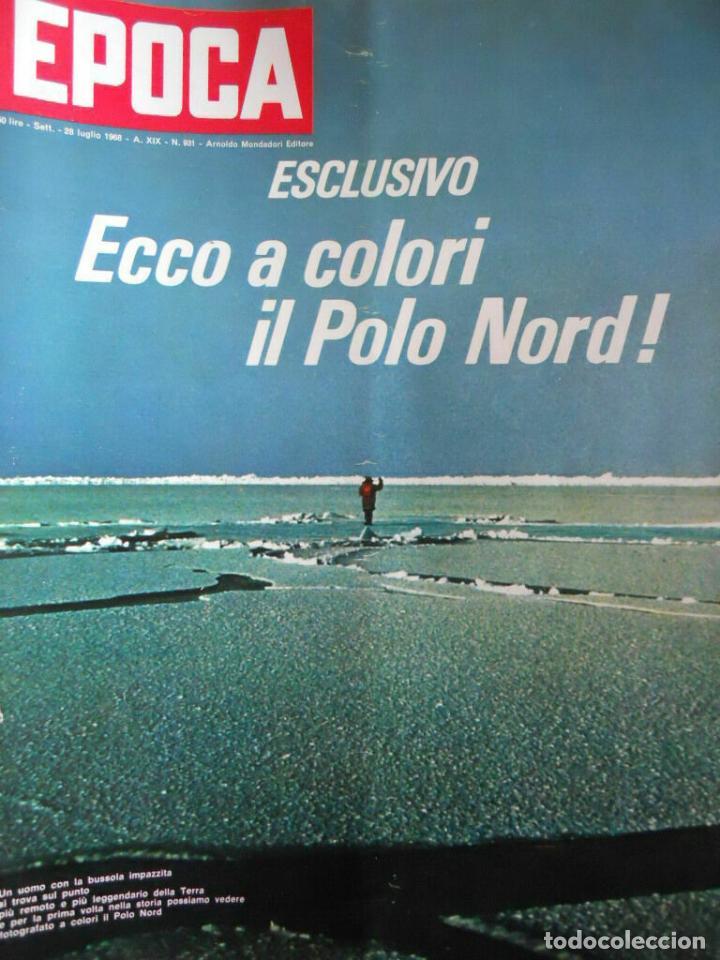 EPOCA RIVISTA VINTAGE 1968 ANNO XIX N.931 - MONDADORI ED - MONDADORI ED. (Coleccionismo - Revistas y Periódicos Modernos (a partir de 1.940) - Revista Época)