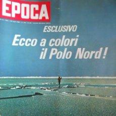 Coleccionismo de Revista Época: EPOCA RIVISTA VINTAGE 1968 ANNO XIX N.931 - MONDADORI ED - MONDADORI ED.. Lote 267803934