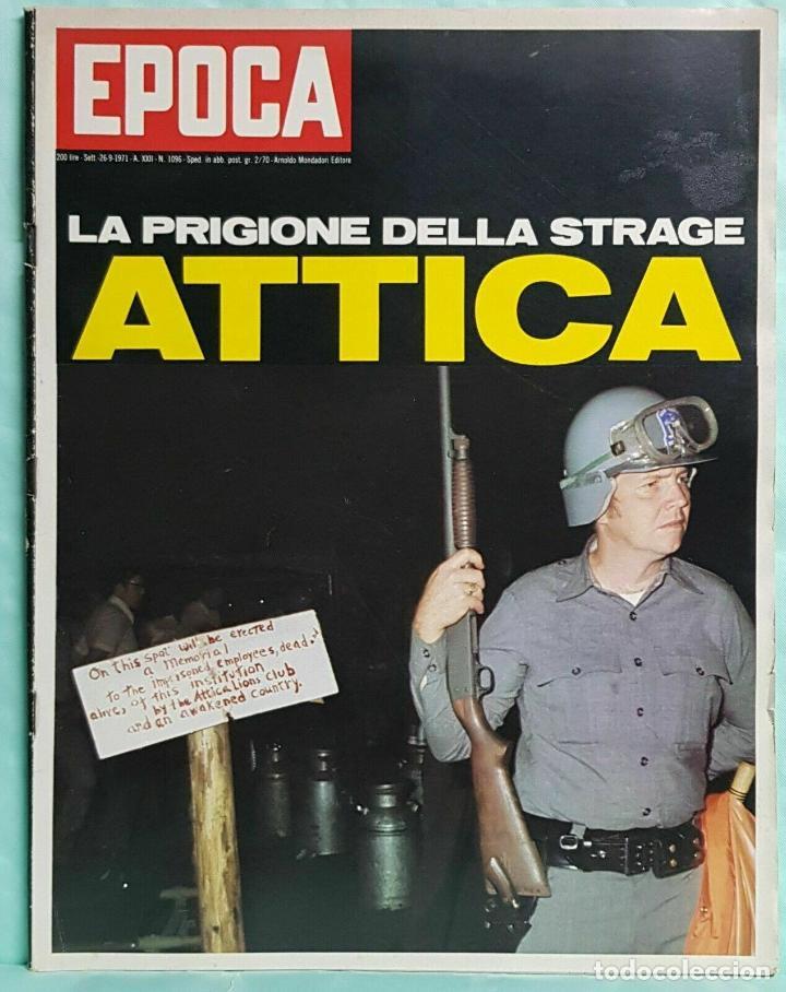 EPOCA RIVISTA VINTAGE 1971 ANNO XXII N.1096 - MONDADORI ED - MONDADORI ED. (Coleccionismo - Revistas y Periódicos Modernos (a partir de 1.940) - Revista Época)