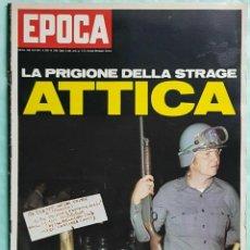 Coleccionismo de Revista Época: EPOCA RIVISTA VINTAGE 1971 ANNO XXII N.1096 - MONDADORI ED - MONDADORI ED.. Lote 267803939