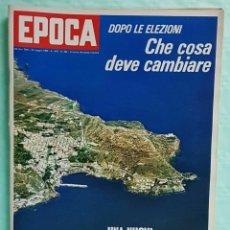 Coleccionismo de Revista Época: EPOCA RIVISTA VINTAGE 1968 ANNO XIX N.922 - MONDADORI ED - MONDADORI ED.. Lote 267803944