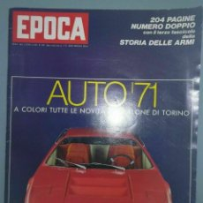 Coleccionismo de Revista Época: EPOCA RIVISTA VINTAGE 1970 ANNO XXI N.1049 - MONDADORI ED - MONDADORI ED.. Lote 267803949
