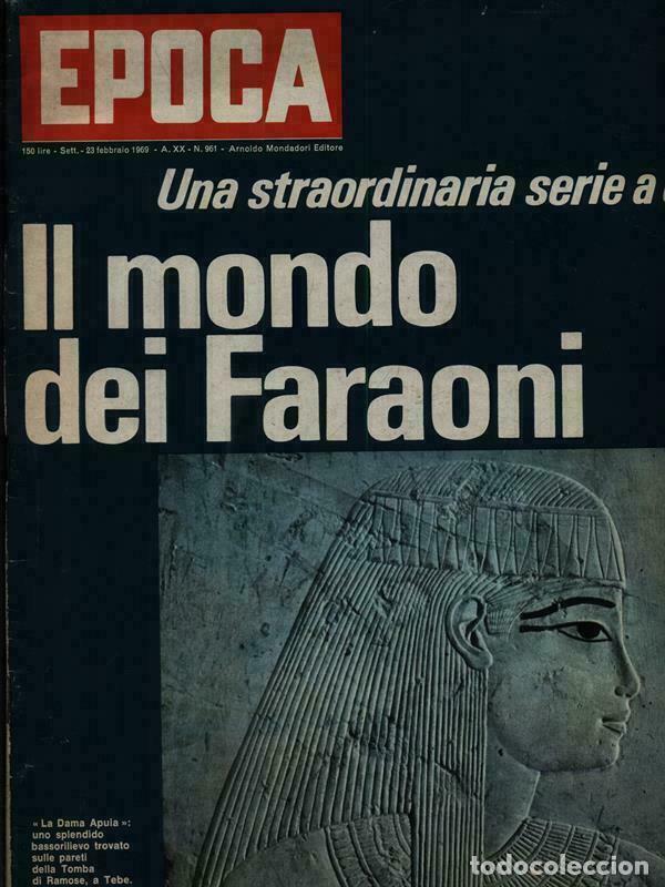 EPOCA RIVISTA VINTAGE 1969 ANNO XX N.961 - MONDADORI ED - MONDADORI ED. (Coleccionismo - Revistas y Periódicos Modernos (a partir de 1.940) - Revista Época)