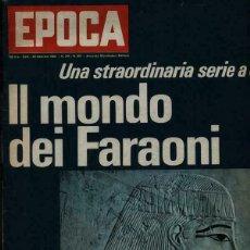 Coleccionismo de Revista Época: EPOCA RIVISTA VINTAGE 1969 ANNO XX N.961 - MONDADORI ED - MONDADORI ED.. Lote 267803954