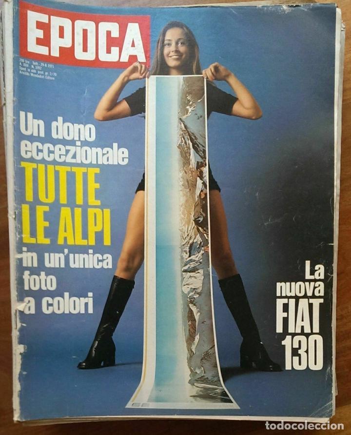 EPOCA RIVISTA VINTAGE 1971 ANNO XXII N.1092 - MONDADORI ED - MONDADORI ED. (Coleccionismo - Revistas y Periódicos Modernos (a partir de 1.940) - Revista Época)