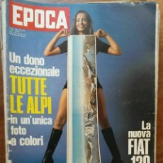 Coleccionismo de Revista Época: EPOCA RIVISTA VINTAGE 1971 ANNO XXII N.1092 - MONDADORI ED - MONDADORI ED.. Lote 267803964